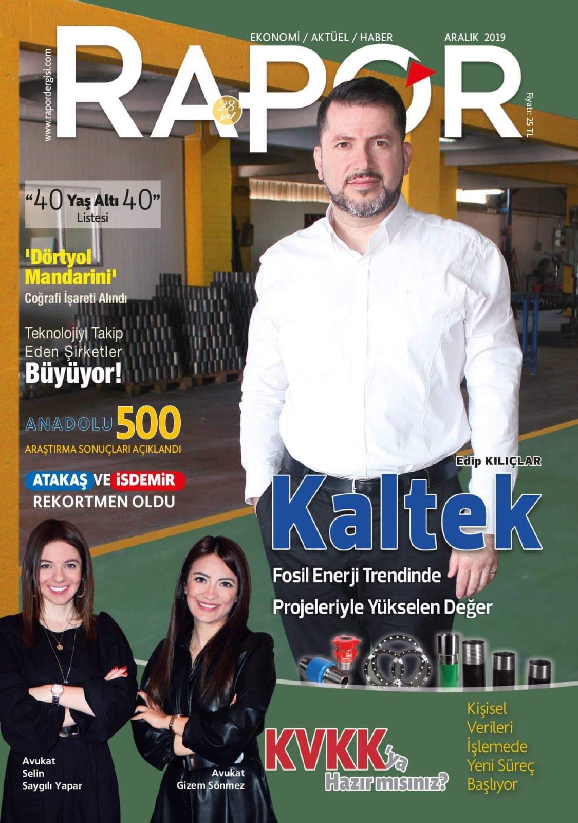 Kaltek Hatay Rapor Dergisi